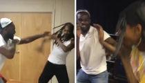 Jon Jones -- Goes Upside Snoop's Head ... With Spinning Elbow! (VIDEO)