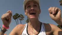 Kerri Walsh Jennings -- BACK OFF RYAN LOCHTE ... 'He's Not a Terrible Person' (VIDEO)