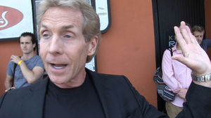 Skip Bayless -- Mike Tyson Sat In Kanye's UFC Seats ... Guess What Happened Next.