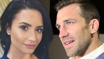 Demi Lovato -- Dating UFC's Luke Rockhold ... We're Cool for the Summer