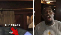 NFL's William Gay -- Loses Big By Winning ... Credit Card Roulette (VIDEO)