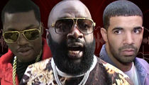 Rick Ross -- Warning, Drake ... I Will Go Off Leash! (VIDEO)