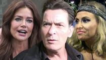 Charlie Sheen: Brooke and Denise Accept Radical Reduction in Child Support