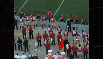 Colin Kaepernick -- Jersey Burned in Effigy Over National Anthem Protest (VIDEO)