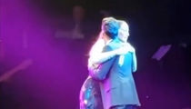 Jennifer Lopez Hugs It Out With Marc Anthony