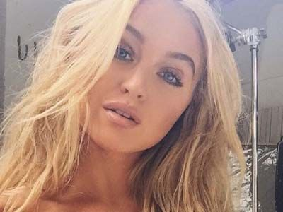 Kim Kardashian Ass Competitor Iskra Lawrence Shows Off Her Hottest Side, DAMN