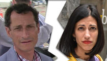 Anthony Weiner -- Huma Abedin's Leaving ... After New Sexting Scandal