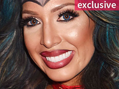 WTF Was Farrah Wearing to the VMAs? Wait'll You See Her Outfit -- and WHY She Wore It!