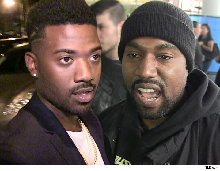Ray J to Kanye West -- You're a Shameless Hypocrite