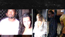 Kanye, Jay Z, Diddy and Wifeys -- Hip-Hop Royalty ... Sticks Together (VIDEO)