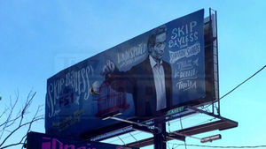 Skip Bayless -- FS1 Trolls ESPN ... Billboards In Bristol