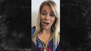 Paige VanZant -- I've Never Seen 'Karate Kid' ... Despite Solid Crane Kick