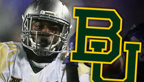 Baylor Football Player -- Suspended 3 Games ... For Dog-Beating Video