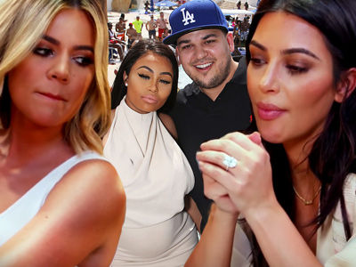 Khloe, Kim & Kris Are VERY Worried About Rob -- After His BRUTAL Fight with Blac Chyna!