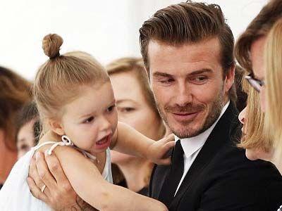 Victoria & David Beckham's Little Girl, Harper, is Getting SO BIG!