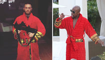 Conor McGregor vs. Floyd Mayweather -- Who Wore It Better? (PHOTOS)