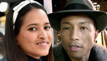 Pharrell's Wife -- Excess Letter Can Get the H Outta My Name!!