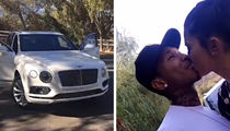 Kylie Jenner -- Surprise Bentley for Tyga Takes Sting Out of Repo (VIDEOS)