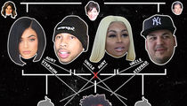 Kylie, Tyga, Rob, Blac -- One Big, Messy Family Tree (PHOTO)
