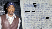 Tupac -- OG Lyrics for Sale ... If You Got Rack$$ (PHOTOS)