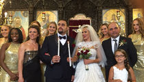 WWE Stars Lana and Rusev -- Perfect Wedding No. 2 in Bulgaria ... Except for that Black Eye (PHOTO GALLERY)