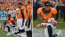 Denver Broncos Brandon Marshall -- Pulls a Kaepernick in NFL Kickoff Game (PHOTO)