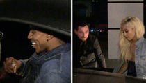 Nick Young -- Date Night with Hot Blonde ... Like My Ferrari??? (VIDEO)