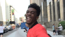 Desiigner -- Fresh Outta Jail ... Still Hype As Ever (VIDEO)
