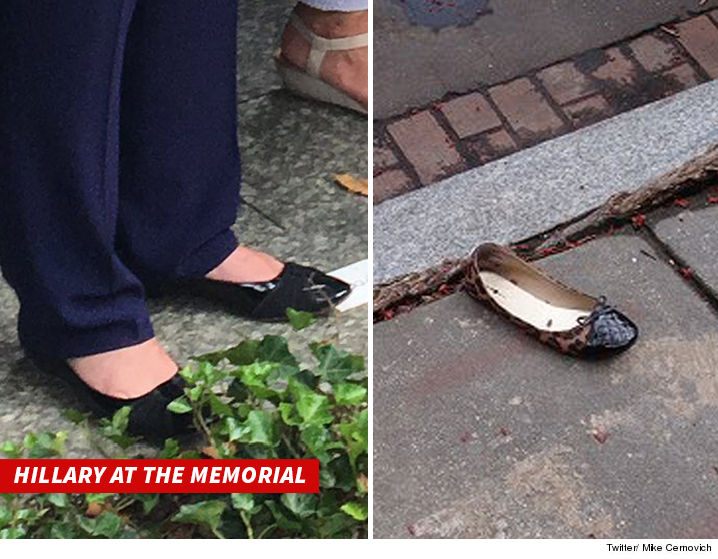 Hillary Clinton - The Shoe Doesn't Fit ... But Serious ...