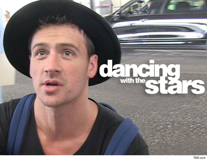 Men Rush Stage During Ryan Lochte's 'Dancing With The Stars' Performance