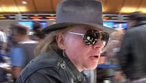 Axl Rose Sued -- No More Patience! You Still Owe Me $160k