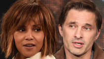 Halle Berry & Olivier Martinez -- LAX Employee Demands ... Get Off Your High Horse!!!
