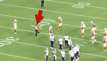 49ers Field Crasher -- Dude, You're Arrested (VIDEO)