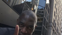 Dikembe Mutombo -- Hilariously Shames Singing Camera Guy ... With Signature Finger Wave (VIDEO)