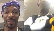 Snoop Dogg -- Recreates Antonio Brown's TD Dance ... Crotch Thrusts, Baby! (VIDEO)