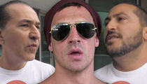 Ryan Lochte Protesters -- Relative Arrested for Olympic Ticket Scam (PHOTO)