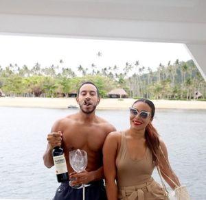 Ludacris and Eudoxie's Fiji Photos