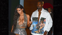 Kim Kardashian ... Oh Yeah, Kanye's in the Pic Too (PHOTO)