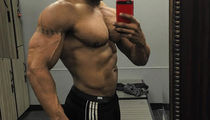 Guess Which Buff Star Shared This Washboard Selfie!