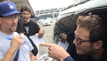Chris Pratt -- Don't Cuss At Me! Flips on Autograph Hounds (VIDEO)