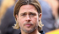 Brad Pitt -- He's Fighting for Joint Custody of Kids