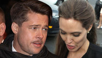Brad Pitt, Angelina Jolie -- Temporary Custody Deal Struck ... Drug Testing, Therapy