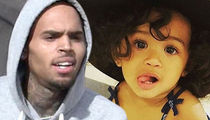 Chris Brown -- Child Services Launch Investigation On Heels of Gun Arrest