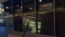 NASCAR & Hornets -- Offices Destroyed in Charlotte Riots (PHOTOS)