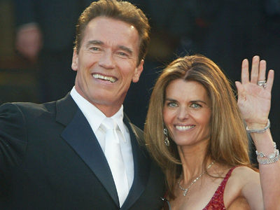 Arnold & Maria REUNITE For Super Cute Family Party