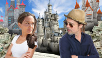 Brad & Angelina: Prenup is Clear ... Splitting Properties Is No Biggie, But Kids Will Be