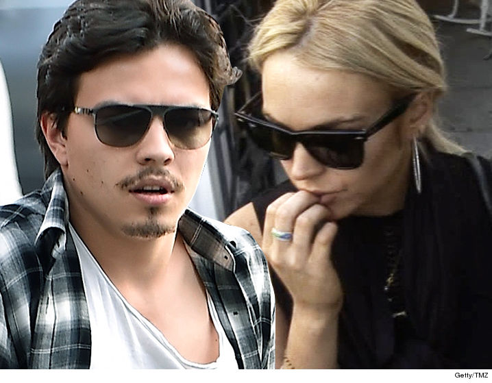 Lindsay Lohan -- Egor Fires Back ... I Brought Home the Bacon, Not Her!