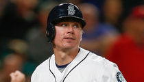 Mariners Catcher Steve Clevenger -- Suspended For Season ... Over Racially Insensitive Tweets