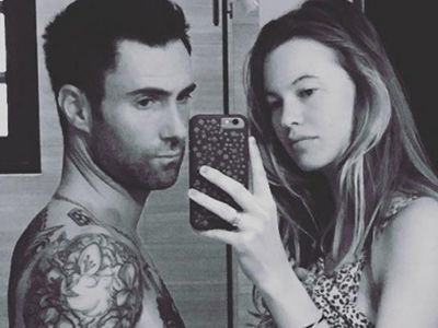 Adam Levine Shares First Pic of Newborn Daughter -- And She's BEAUTIFUL!