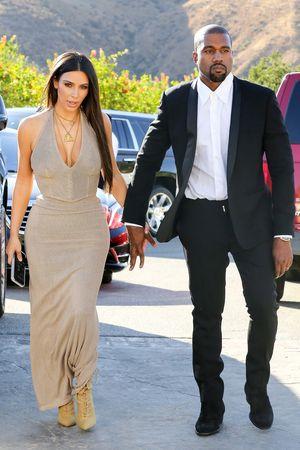 Kim & Kanye -- We Clean Up Nicely!